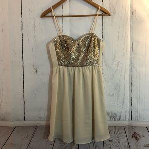 H&M Divided Sequin Dress